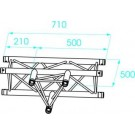 Prolyte X30D C017 Truss T-stuk Horizontaal