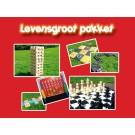Spellenpakket met 8 Levensgroot spellen