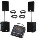Speakerset 3 Dynacord F150 + F8