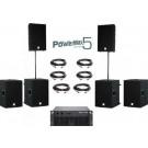 Speakerset 5 Dynacord PowerMax 5 Set Extra