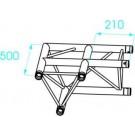 Prolyte X30D C003 Truss 2-weg hoek 90 graden