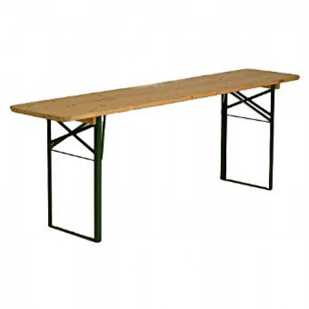 Verhuur houten tafel 2 meter ook bekend als biertafel for Verhuur tafels