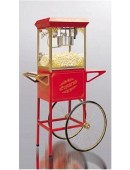 Popcornmachine (8 ounce) incl. popcornkar, excl. grondstoffen