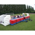Levend tafelvoetbalspel (16x5,5x3 mtr)