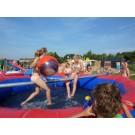 Zwembad met evenwichtsbalk (ø 5 meter, 1,20 meter hoog)