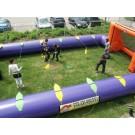 Levend tafelvoetbalspel, met elastieken (11 x 7 meter)