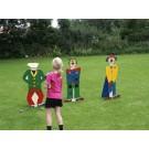 Clownskoppengooien (set van 3 stuks)