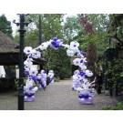 Bloemenboog ballonnen 2,5 x 2,5 meter