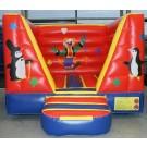 Springkussen Mini Circus (3,9 x 3 x 2,1 meter)