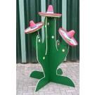 Sombrero gooien (met cactus)