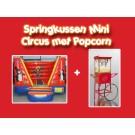 Springkussen Mini Circus met Popcorn