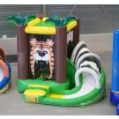 Glijbaan opblaasbaar Lion King (3,1 x 3,5 x 2,65 meter)